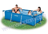 Каркасный бассейн Intex (Интекс) Rectangular Frame Pools  58980