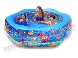 Надувной бассейн INTEX Аквариум 56493